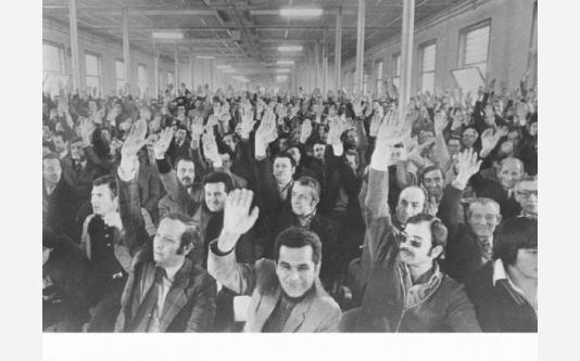 Innocenti Leyland- Assemblea dei lavoratori_1976