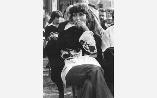 Manifestazione delle donne contro la violenza e il terrorismo_1978