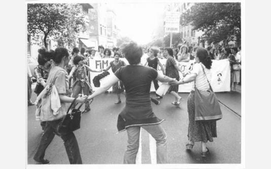 Manifestazione nazionale dei lavoratori metalmeccanici per il contratto_1979