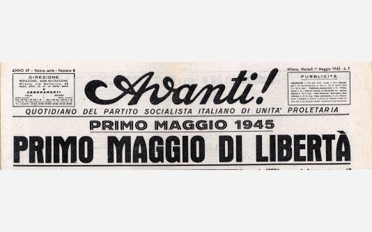 Avanti!_1 Maggio 1945