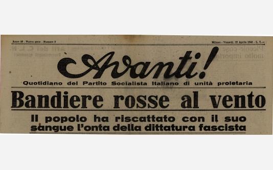 Avanti!_27 Aprile 1945
