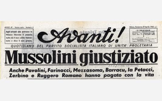 Avanti!_29 Aprile 1945