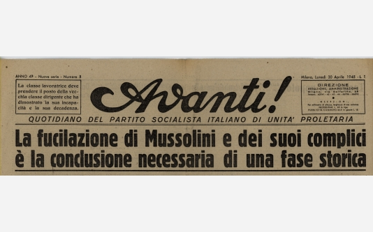 Avanti!_30 Aprile 1945