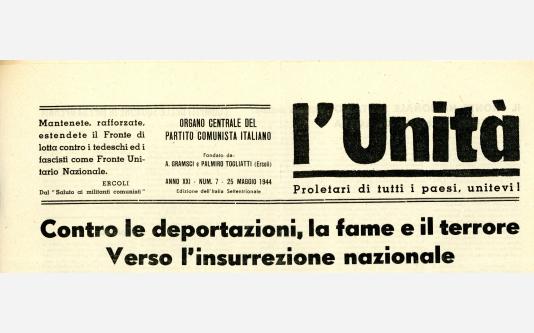 L'Unità 25 Maggio 1944