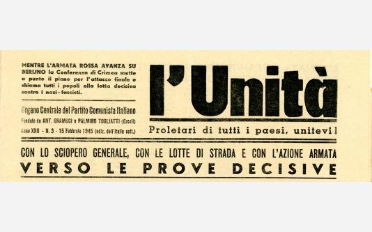 L'Unità_15 Febbraio 1945