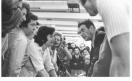 Gte - Assemblea congressuale in fabbrica - Luciano Lama discute con i lavoratori__1973