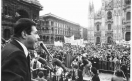 Manifestazione del primo maggio - Luciano Lama di spalle al microfono_1979