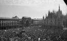 Manifestazione di tutte le categorie in risposta alla strage in piazza della Loggia a Brescia_1974